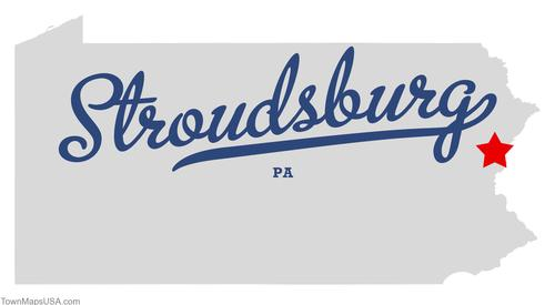 map_of_stroudsburg_pa